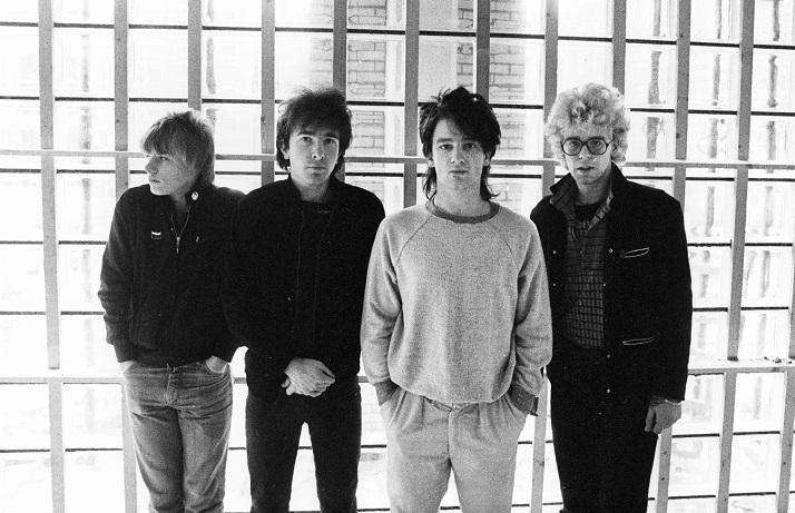 NETHERLANDS - OCTOBER 01:  NETHERLANDS  Photo of U2, L-R: Larry Mullen Jnr, The Edge, Bono, Adam Clayton - posed, group shot  (Photo by Collexxx - Lex van Rossen/Redferns)