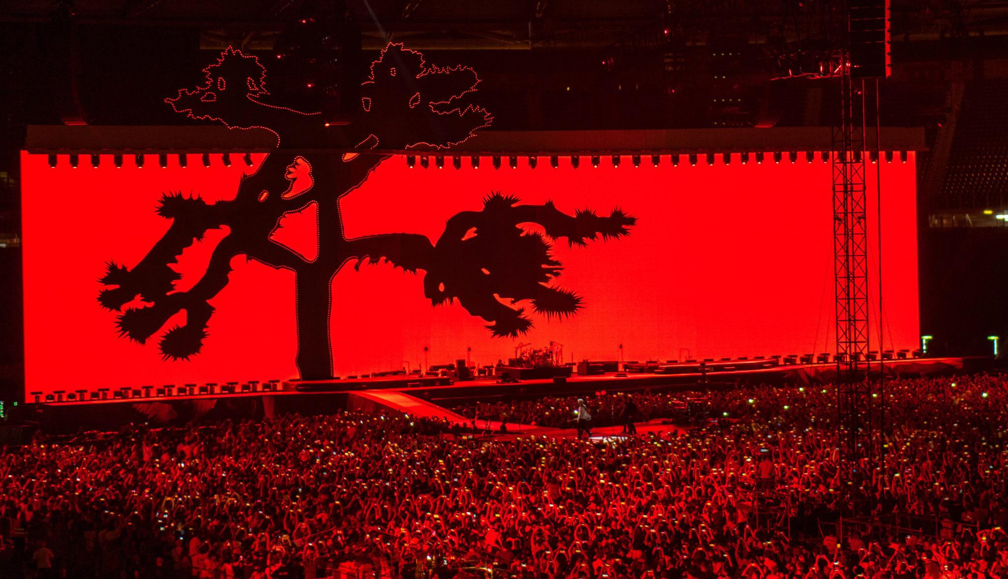 The Joshua Tree Tour Stage